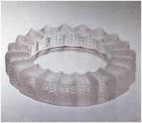 Lalique Jamaique Ashtray