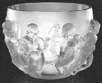 Lalique Luxembourg Vase